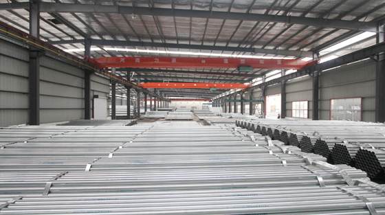 Comment appliquer et lier un tuyau en acier galvanisé