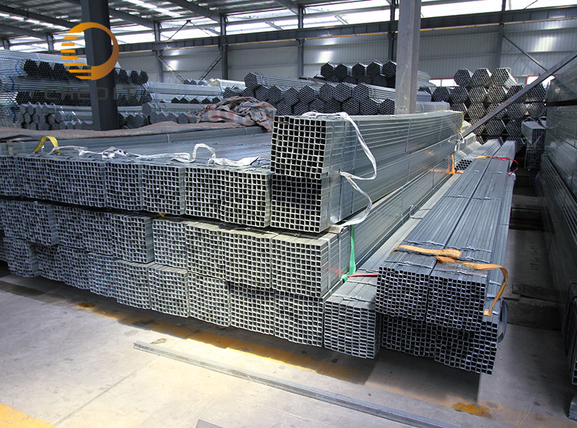 Mild steel galvanized pipe