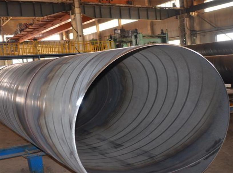 Tuyau d'acier en spirale au carbone pour pipeline de gaz et de pétrole