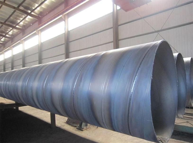 Tuyau d'acier au carbone SSAW d'utilisation pour l'eau de transfert