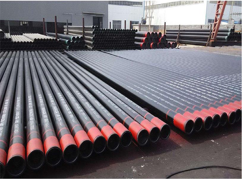 Tuyau d'acier sans couture de haute qualité pour le gaz et l'huile